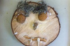 Baumscheibengesicht