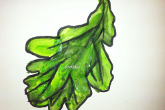 eichenblatt-kinder-schulen-kreativ-malen-dinges